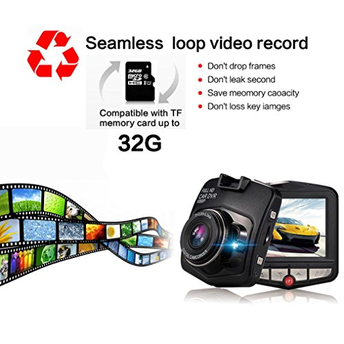 hd 1080p dash car dvr cam vehicle camera