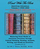 Read with the Best: American Literature Volume 1 1500- 1860 Teacher