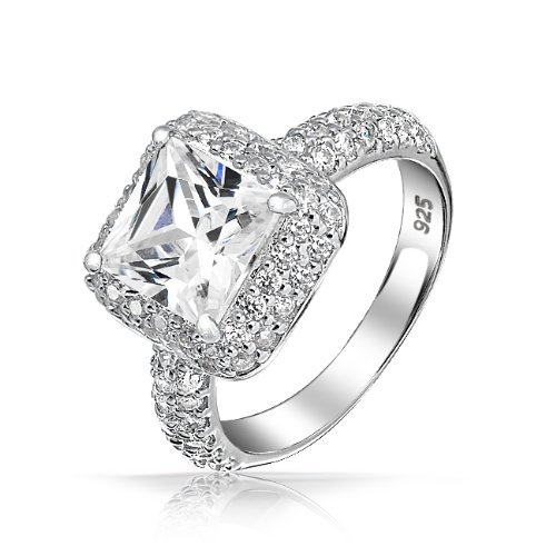square band engagement rings