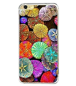 Bright Colour Pattern 2D Hard Polycarbonate Designer Back Case Cover for Apple iPhone 6