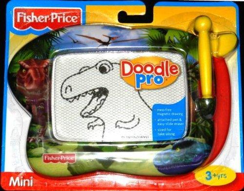 Mini Doodler For Take Along Fun - Fisher Price Mini Kid Tough Doodler-Dinosaur
