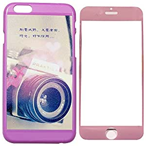 Mobile Back Cover with Screen protector for Apple iPhone 6 ZT12577