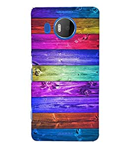 EPICCASE rainbow colors Mobile Back Case Cover For Microsoft Lumia 950 XL (Designer Case)