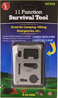 11 Function Camping Hiking Emergency Survival Tool from SEINC