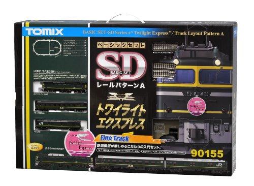 TOMIX Nゲージ 90155 ベーシックセットSD トワイライトエクスプレス