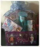Disney Frozen Olaf Gift Basket - Perfect for Easter Basket, Birthdays, Christmas, or Other Occasion