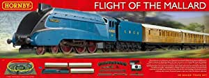 Hornby Flight of the Mallard Gauge Electric Train Set, Multi Color