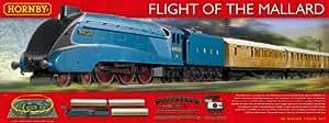 Hornby R1171 Flight of the Mallard 00 Gauge Electric Train Set