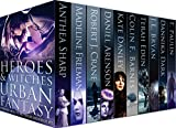 Heroes & Witches Urban Fantasy Multi-Author Boxed Set: Urban Fantasy novels about witches and wizards, shifters, mages, ghosts, angels, demons, mutants, ... Urban Fantasy and Super Powers Book 1)