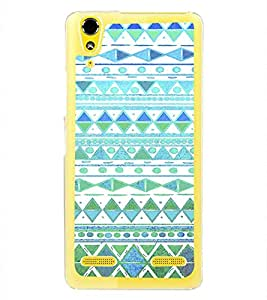 ifasho Animated Pattern colrful tribal design Back Case Cover for LENOVO A6000