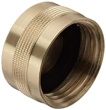 dixon ghc7 brass garden hose fitting cap 3 4 ght female