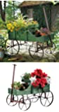 Collections Etc Amish Wagon Decorative Garden Decor