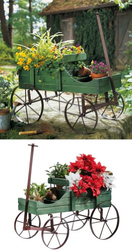 Amish Wagon Decorative Garden Decor By Collections Etc