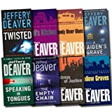 Jeffery Deaver Jeffery Deaver Collection 8 Books Set (Hell's Kitchen, Mistress of Justice, A Maiden's Grave, Bloody River Blues, Shallow Graves, Twisted, The Empty Chair, Speaking in Tongues)