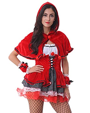 Adulte Deluxe Lapin - RedExtend Deluxe Little Red Riding Hood Halloween