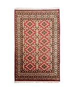 Navaei & Co. Alfombra Kashmir Rojo/Multicolor 157 x 96 cm
