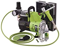 Grex GCK01 Combo Kit with Genesis.XT and AC1810-A Air Compressor Airbrush from Grex Airbrush