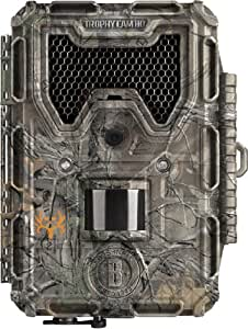 "Bushnell 119677 trophy cam hd  ""agressor"", black led, camo"