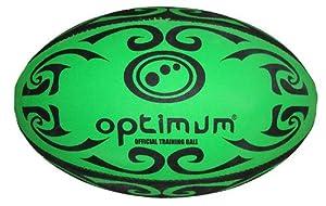 Buy Optimum Tribal Practice Rugby Ball - Green by Optimum