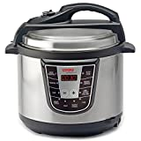 Cooks Professional 8-in-1 Programmable Electric Stainless Steel Pressure Cooker with Cooking Pot 5 Litre - 900 Watts. - Best Reviews Guide