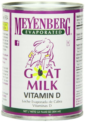 Meyenberg Evaporated Goat Milk, Vitamin D, 12 Ounce (Pack of 12) (Canned Evaporated Milk compare prices)
