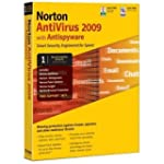 Norton Antivirus 2009 1 user