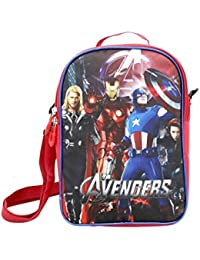 Stuff Jam Action Super Heroes Featured 2 In 1 Lunch Bag For Kids(Small Bag)