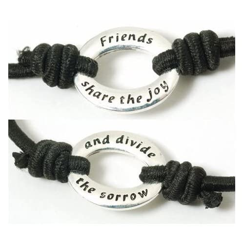 Freundschafts  Armband Friends Share The Joy And Divide The Sorrow