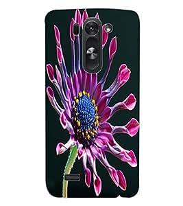 ColourCraft Beautiful Flower Design Back Case Cover for LG D722K