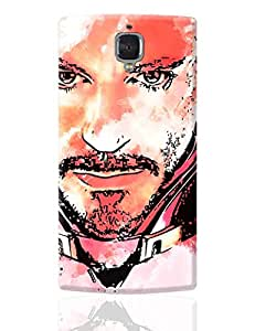 PosterGuy OnePlus 3 Case Cover - Iron Man Robert Downey Jr Inspired Fan Art | Designed by: Pulkit Taneja