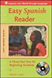 img - for Easy Spanish Reader w/CD-ROM: A Three-Part Text for Beginning Students (Easy Reader Series) by Tardy, William 2nd (second) edition [Paperback(2008)] book / textbook / text book