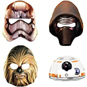 Classic Star Wars Party Masks, 8ct