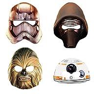 Star Wars Party Masks, 8ct