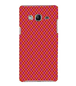 EPICCASE reddish crosses Mobile Back Case Cover For Samsung Tizen Z3 (Designer Case)