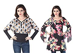 Trendy Combo of Women Top by Bfly