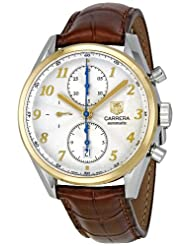 Inexpensive!! Tag Heuer Men's CAS2150.FC6291 Carrera Heritage White Dial Dress Watch Limited time