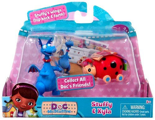 NEW Doc McStuffins Stuffy & Xyla PLAY SET - 1