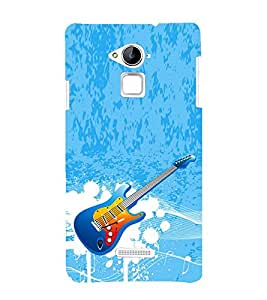 Vizagbeats Guitar Back Case Cover for Coolpad Note 3