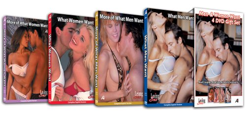 Loving Sex - Half-Price 4-DVD Boxed Set - What Men & Women Want