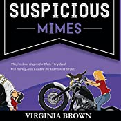 Suspicious Mimes: A Blue Suede Memphis Mystery, Book 3 | Virginia Brown