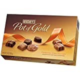 Hershey's Pot of Gold Milk and Dark Chocolate Caramel Collection, 10-Ounce Box