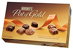 HERSHEY\'S POT OF GOLD Caramel Assortment (10-Ounce Box)
