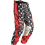 364-23220 - Fly Racing 2011 Youth Kinetic Motocross Pants 20 Red/Grey