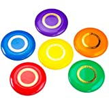 Cosom Flying Discs, Flying Sports Disc For Kids, Outdoor Activities For Kids, Party Games For Children, Easy Catching...