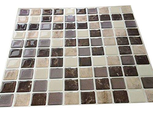 Tile adhesivo 3d gel efecto mosaico autoadhesivo mosaico for Azulejo mosaico