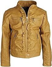 Urban Republic Big Girls Faux Leather Biker Trucker Motorcycle Jacket