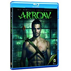 DVD * Arrow - Die komplette 1. Staffel (Box Set / 4 Discs) [Blu-ray] [Import allemand]