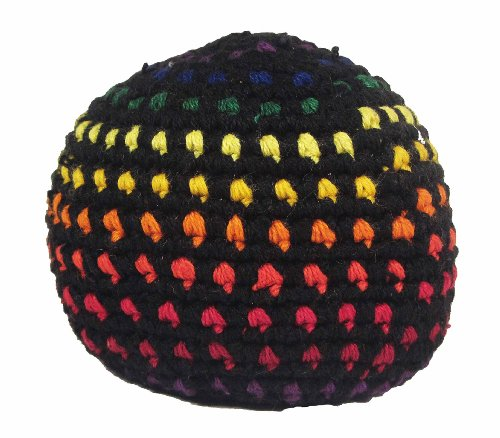 Hacky Sack - Dots on Black