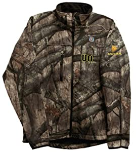 Granyte 6100C UO - Oregon Ducks Mossy Oak Camo Soft Shell Water Resistant Jacket -... by Granyte