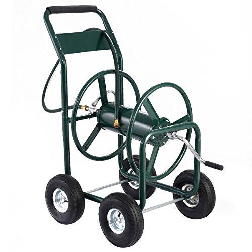 300 Ft Garden Water Hose Reel Cart Heavy Duty (Gorilla Box Fan compare prices)